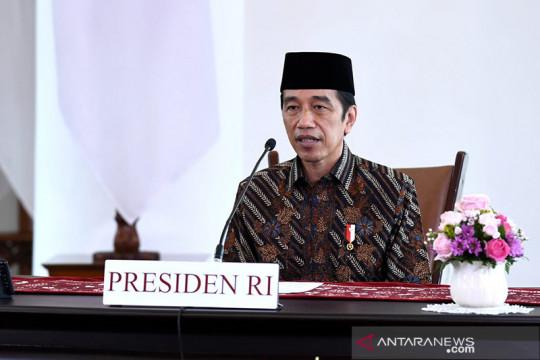 Jokowi: Sudahi gesekan antara TNI dan Polri