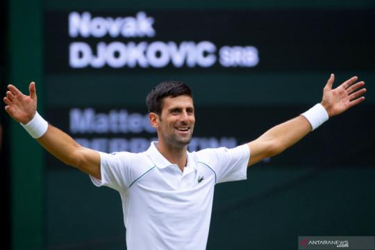 Novak Djokovic jadi petenis pertama yang lolos Final ATP 2021