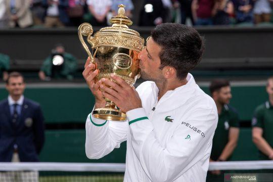 Novak Djokovic juarai Wimbledon 2021, raih gelar Grand Slam ke-20