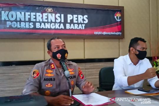 Polres Bangka Barat tetapkan dua tersangka pemalsu surat COVID-19