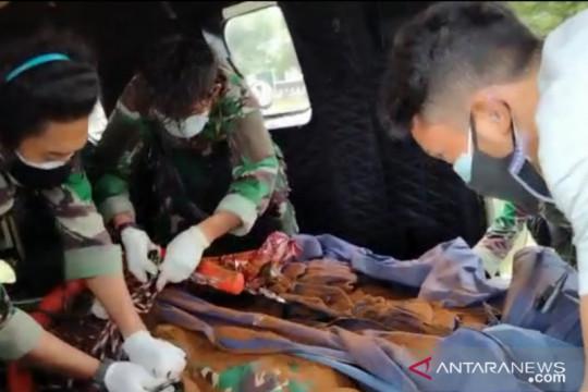 Prajurit TNI Koopsgabsus berhasil evakuasi dua jenazah teroris Poso