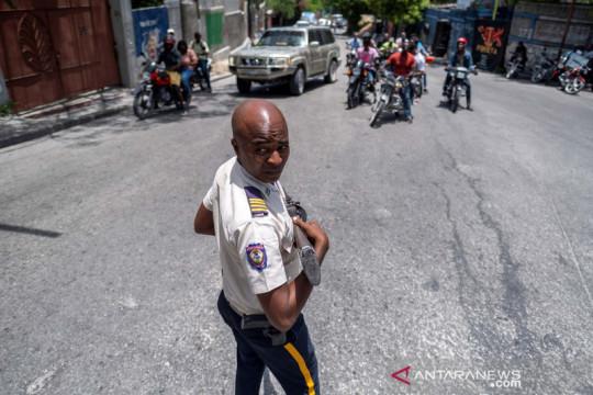 Seorang pejabat tinggi pengamanan Presiden Haiti ditangkap polisi
