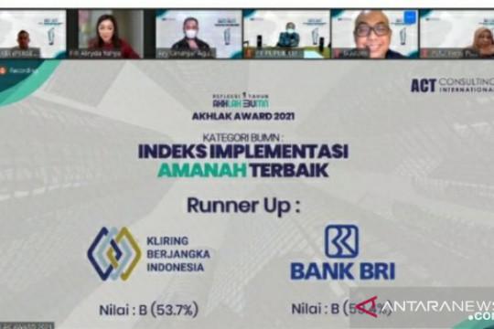 KBI raih empat penghargaan di ajang AKHLAK Award 2021