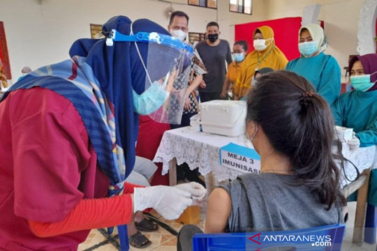 Satgas: 3.729 pelajar di Babel terima vaksin COVID-19 pertama