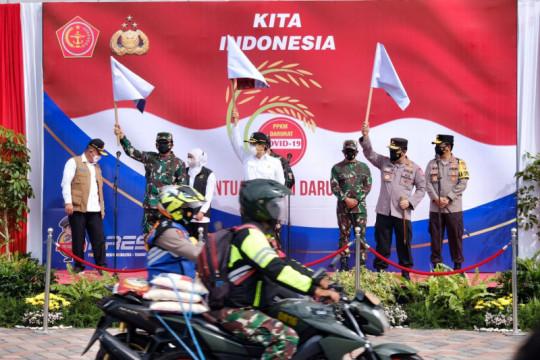 Panglima TNI: Gunakan strategi ofensif-defensif tangani COVID-19
