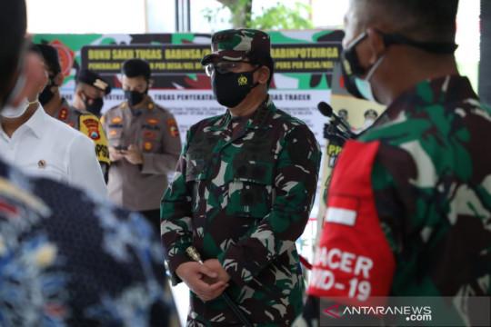Panglima TNI: Budayakan bermasker dan isolasi mandiri untuk lawan COVID-19