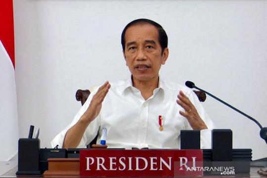 Presiden Jokowi: Butuh kepemimpinan kuat untuk hadapi pandemi