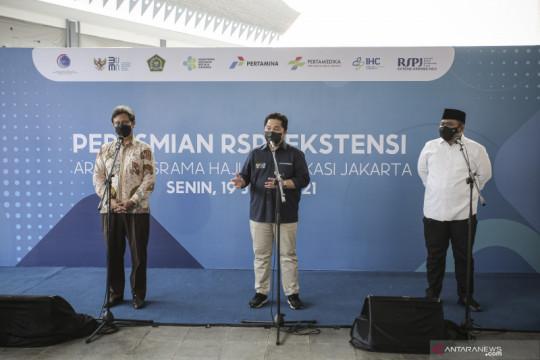 Peresmian RSPJ Ekstensi Asrama Haji
