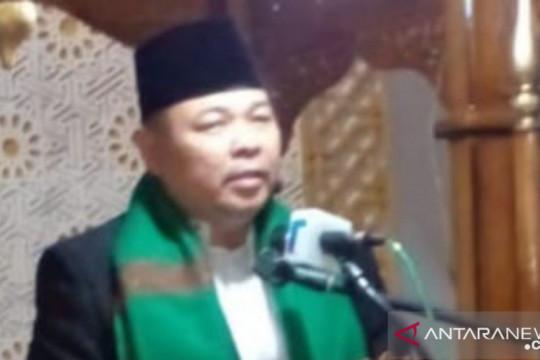Khotib Masjid Agung: Hadapi pandemi COVID-19 dengan sabar dan ikhlas