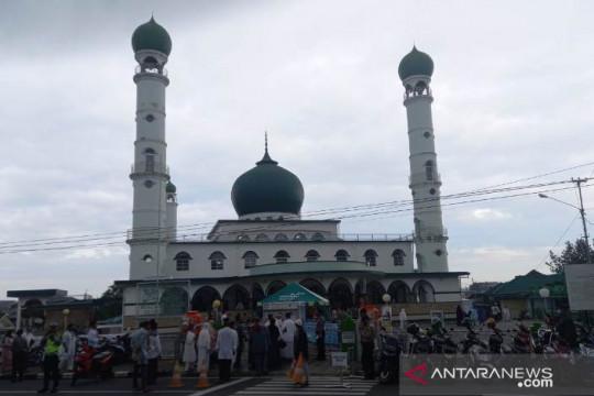 Kapolda Babel pantau Sholat Idul Adha di Pangkalpinang