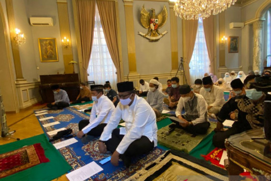 KBRI Roma selenggarakan Idul Adha dengan terapkan prokes