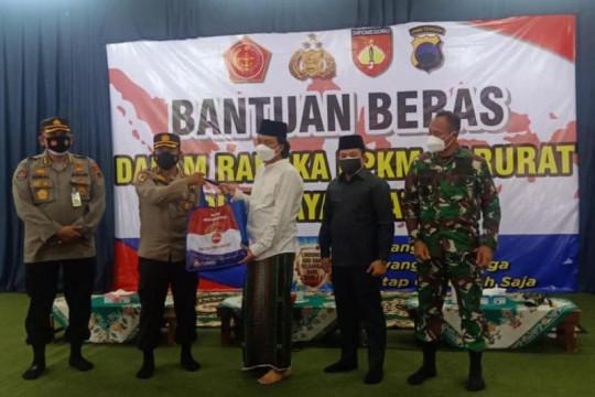 Gus Yusuf minta TNI/Polri berpatroli cari warga yang lapar akibat PPKM