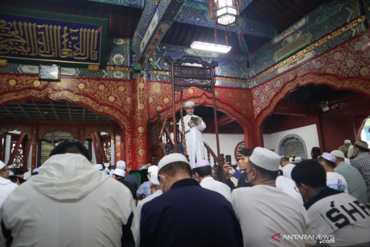 Ada yang ganjil saat shalat Idul Adha di Niujie