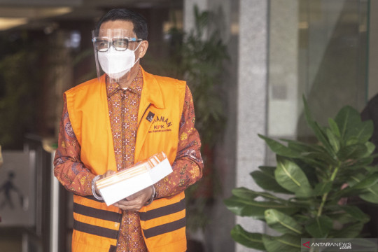 Jaksa ungkap rincian gratifikasi ke Gubernur Sulsel nonaktif Nurdin Abdullah