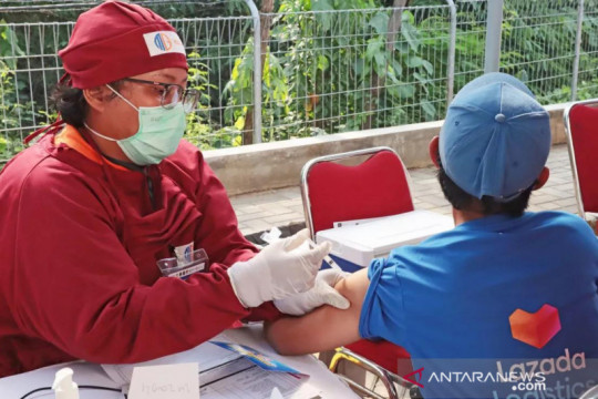Lazada Indonesia vaksinasi pelaku UMKM digital dan umum