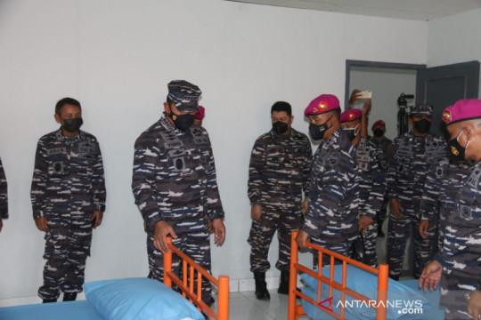 Kasal tinjau kesiapan pangkalan marinir menjadi RS Darurat COVID-19