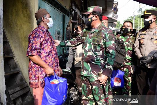 Panglima TNI: Daerah pinggiran Jakarta jadi fokus serbuan vaksinasi COVID-19