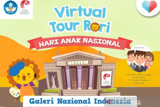 Galeri Nasional Indonesia gelar tur virtual rayakan hari anak