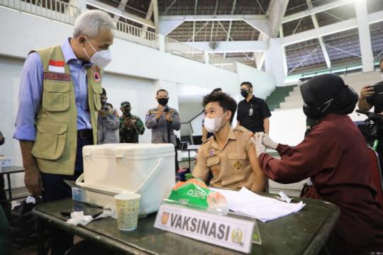 Jateng gandeng TNI/Polri percepat vaksinasi COVID-19