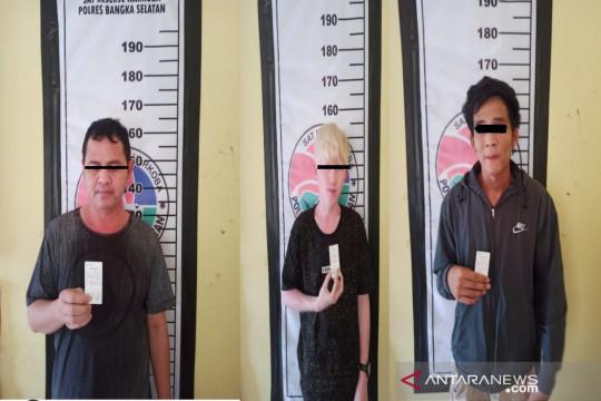 Polres Bangka Selatan koordinasi BNNK untuk assesment tiga pemakai narkoba
