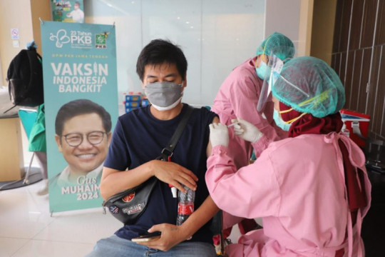 PKB Jateng adakan vaksinasi sebagai komitmen ikut tangani pandemi