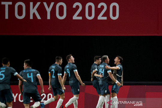 Olimpiade, Argentina taklukkan Mesir 1-0