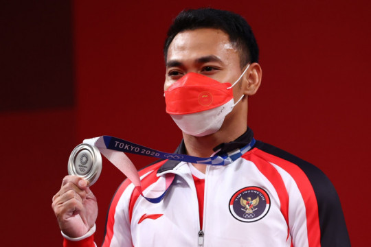 Eko Yuli sumbang medali perak bagi Indonesia di Olimpiade Tokyo
