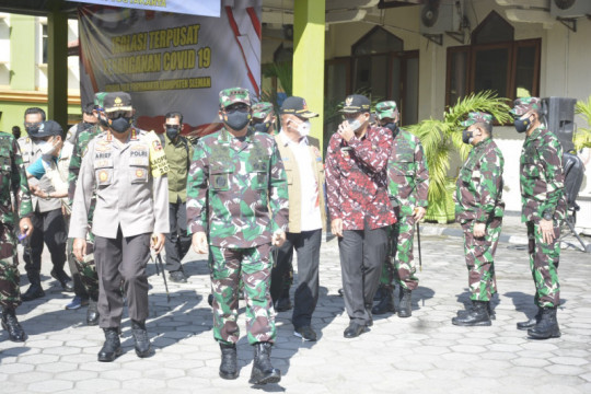 Panglima TNI: Pelayanan di selter Asrama Haji Sleman sudah penuhi standar