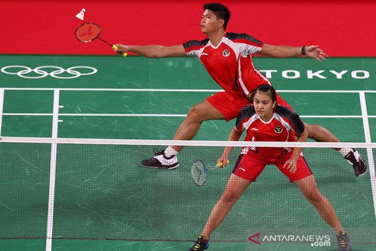 Praveen/Melati bertemu unggulan teratas di perempat final Olimpiade Tokyo