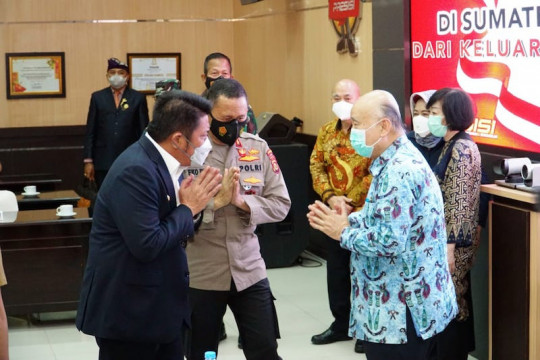 Pengusaha asal Aceh Akidi Tio sumbang Sumsel Rp2 triliun atasi COVID-19, HD apresiasi keluarga almarhum