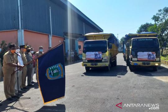 Bulog Belitung menyalurkan bantuan 56,3 ton beras