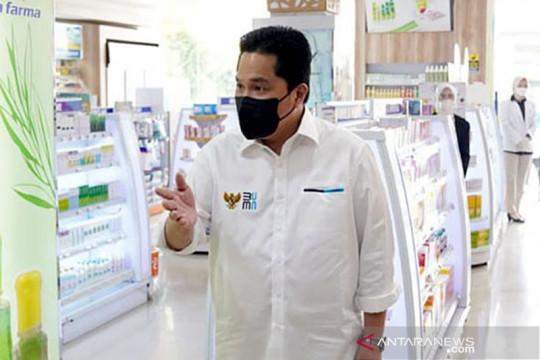 Menteri BUMN: jangan ada penimbunan obat selama pandemi COVID-19