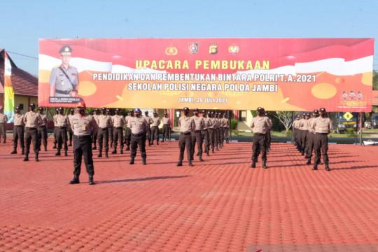 Seratus putra asli Papua ikut pendidikan bintara Polri di SPN Jambi