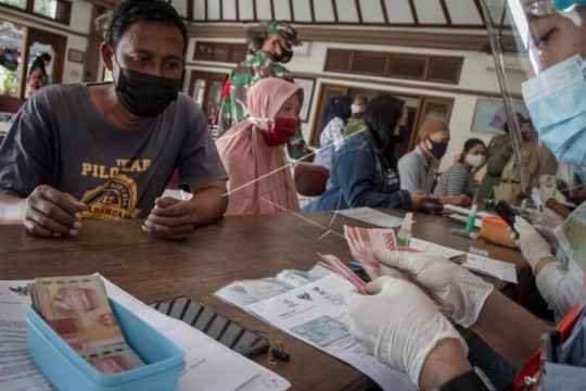 Bantuan sosial tunai warga terdampak COVID-19