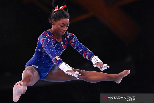 Simone Biles banjir dukungan setelah mundur dari final beregu putri