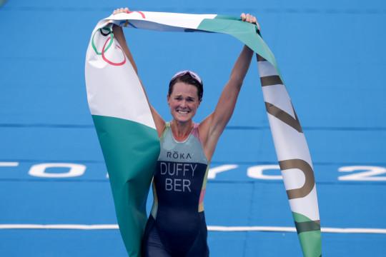 Rajai triatlon, Duffy hadiahi Bermuda dengan emas pertama Olimpiade