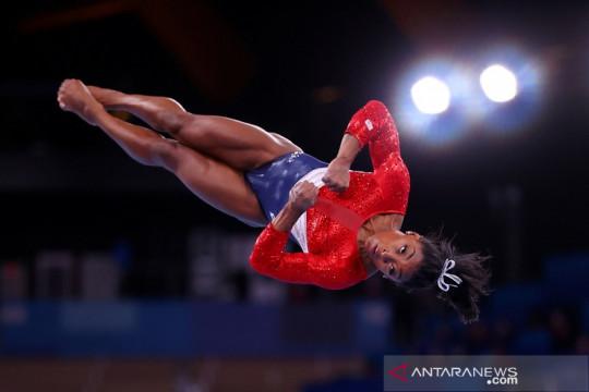Olimpiade Tokyo masih menunggu keputusan Simone Biles
