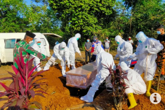 Update kasus COVID-19 di Lampung : 33.520 orang positif dan 2.017 orang meninggal