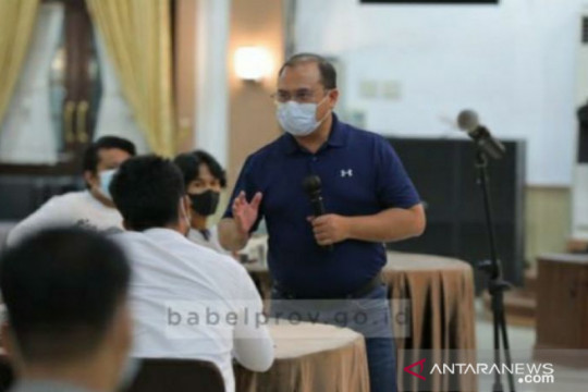 Gubernur Babel carikan solusi bagi pelaku usaha agar tetap eksis selama PPKM