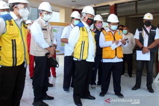 Menteri PUPR tinjau renovasi RS darurat Asrama Haji Donohudan