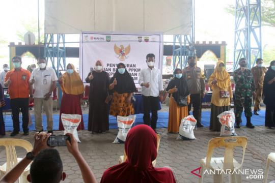 Sebanyak 256,36 ton beras bantuan PPKM telah disalurkan di Batam