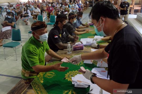 Hoaks! Pemilik kartu vaksin dapat kompensasi PPKM Rp1 juta