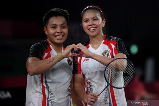 Greysia/Apriyani sabet medali emas Olimpiade Tokyo 2020