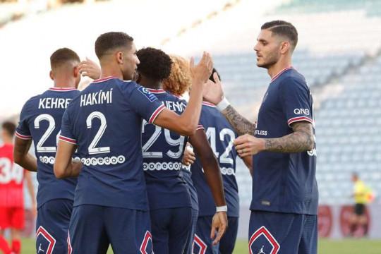 PSG bermain imbang 2-2 lawan Sevilla dalam laga persahabatan