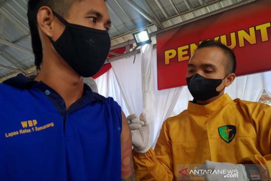 13.800 napi di Jawa Tengah mulai divaksin
