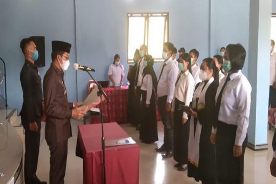 Bupati Murung Raya lantik 44 anggota BPD di delapan desa