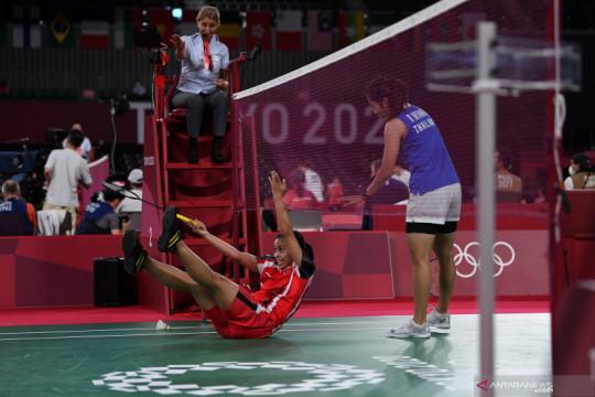 Gregoria gagal ke perempat final Olimpiade Tokyo 2020