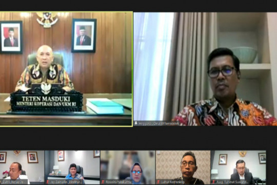 BPJAMSOSTEK Semarang Majapahit ikut gencarkan Inpres No 2/2021