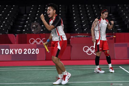 Greysia/Apriyani melenggang ke semifinal Olimpiade Tokyo