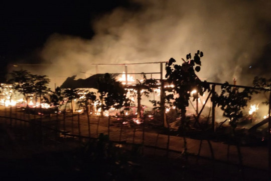 Polisi selidiki penyebab lima ekor kerbau mati terpanggang di Jepara